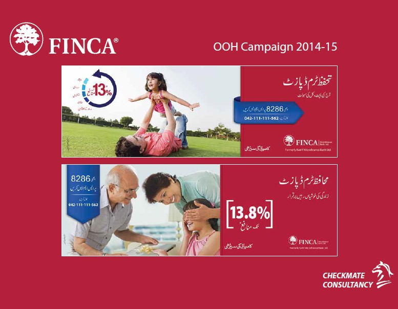 Out of Home Campaign – FINCA Bank