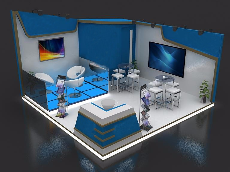 Exhibition Stands and Promotional Kiosks